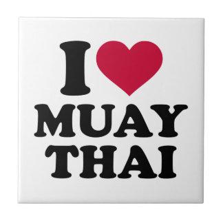 I love Muay Thai Tile