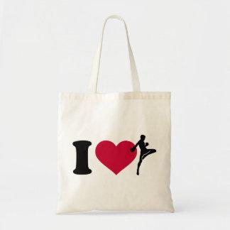 I love Muay Thai Tote Bag