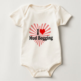 I love Mud Bogging Baby Bodysuit