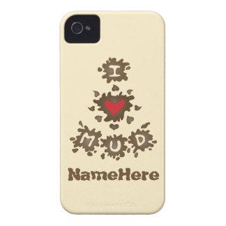 I Love Mud iPhone 4 Cover