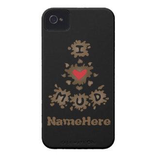 I Love Mud iPhone 4 Case-Mate Case
