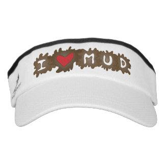 I Love Mud Headsweats Visors