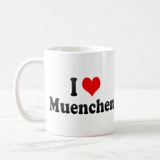 I Love Muenchen Germany Mugs