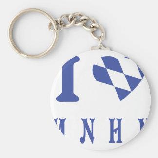 I love muenchen icon keychain
