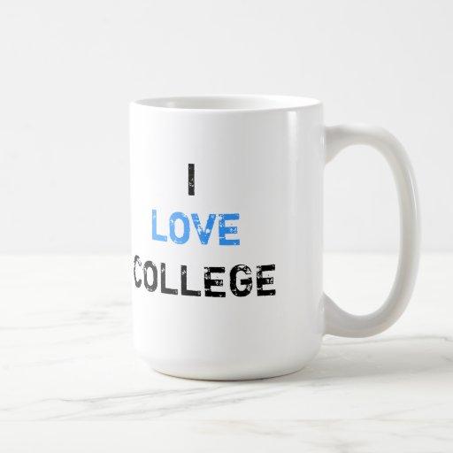 I Love Mug - Carolina Blue