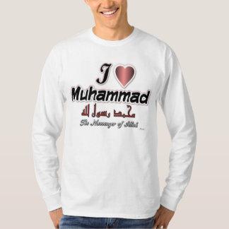 I love Muhammad - The prophet of Allah T-Shirt