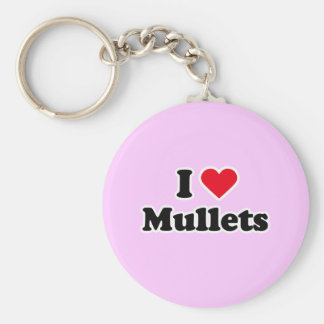 I love mullets key chains