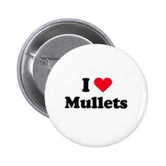 I love mullets pin