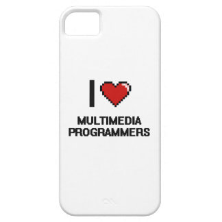I love Multimedia Programmers iPhone 5 Cover