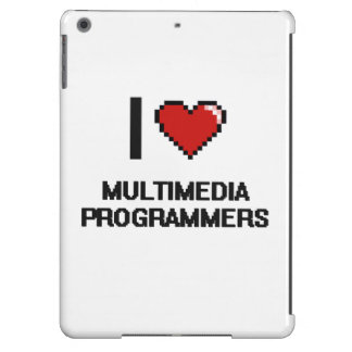 I love Multimedia Programmers Case For iPad Air