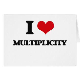 I Love Multiplicity Cards