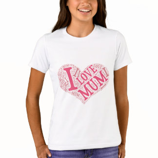 Girls' Bella+Canvas Crew T-Shirt