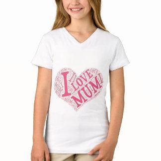 Girls' Fine Jersey V-Neck T-Shirt