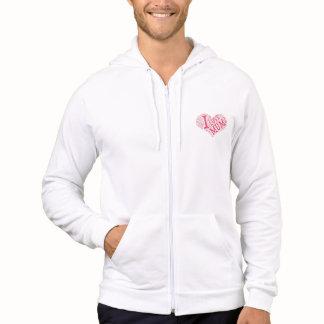 Men's American Apparel California Fleece Zip  Hoodie