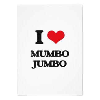 I Love Mumbo Jumbo 5x7 Paper Invitation Card