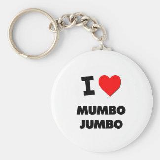 I Love Mumbo Jumbo Key Chains
