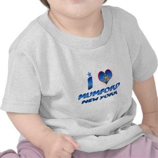 I love Mumford, New York Tee Shirt