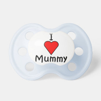 I love Mummy Baby Pacifiers