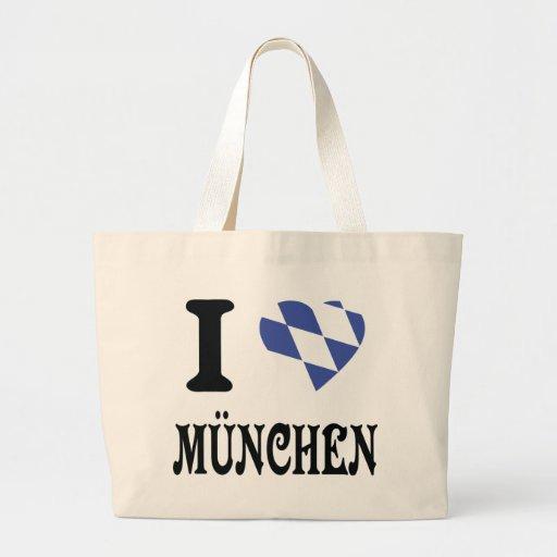 I love München icon Canvas Bag