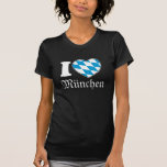 I Love München - Oktoberfest Shirt for Girls