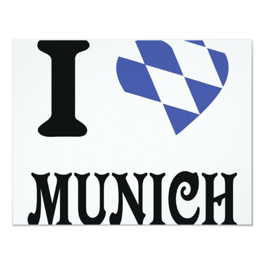 I love Munich icon Card