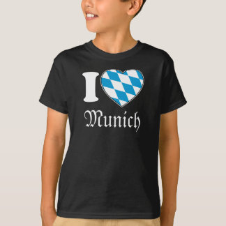 I Love Munich - Oktoberfest-Shirt for Boys T-Shirt