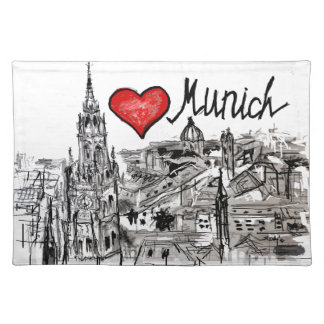 I love Munich Placemat