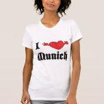 I Love Munich T-Shirt Tees