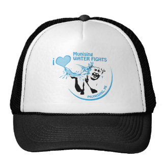 I love Munising waterfights Trucker Hat