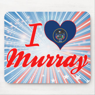 I Love Murray, Utah Mouse Pad