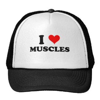 I Love Muscles Trucker Hat