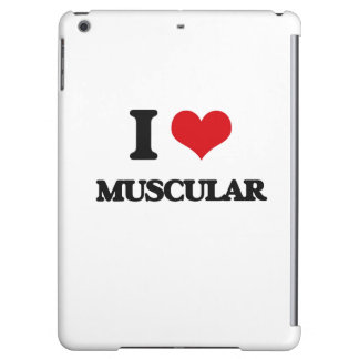 I Love Muscular iPad Air Covers