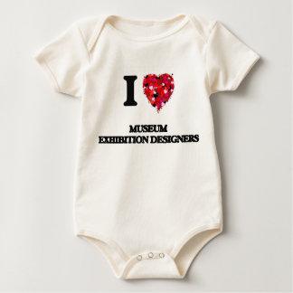 I love Museum Exhibition Designers Bodysuits