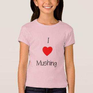 I Love Mushing T-Shirt