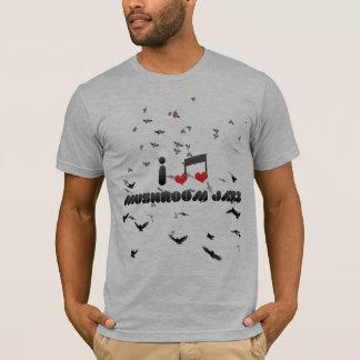 I Love Mushroom Jazz T-Shirt