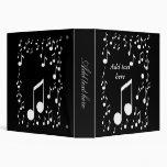 I Love Music_Avery Binder 3 Ring Binder