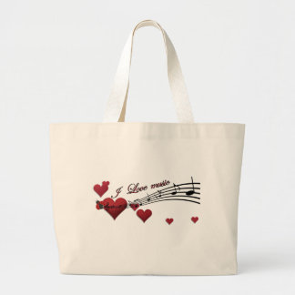 I Love music Bags