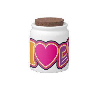 I Love Music Candy Dish