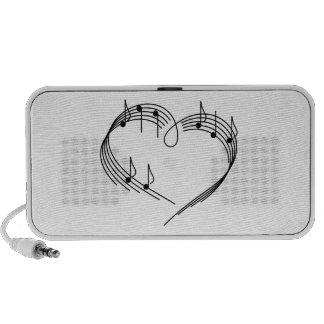 I love Music Design Mini Speakers