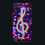 "I Love Music G-clef iPod Touch 5G Cover<br><div class=""desc"">I Love Music G-clef</div>"