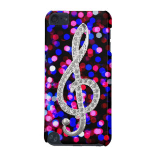 I Love Music G-clef iPod Touch 5G Cover