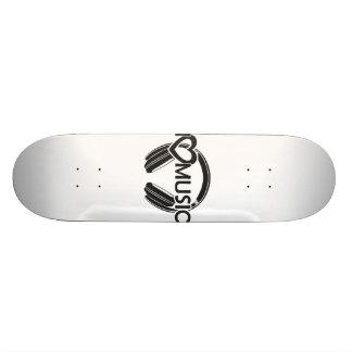 I love music headphones skateboard deck