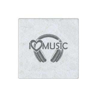 I love music headphones stone magnet
