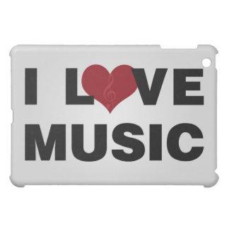 I Love Music ipad case