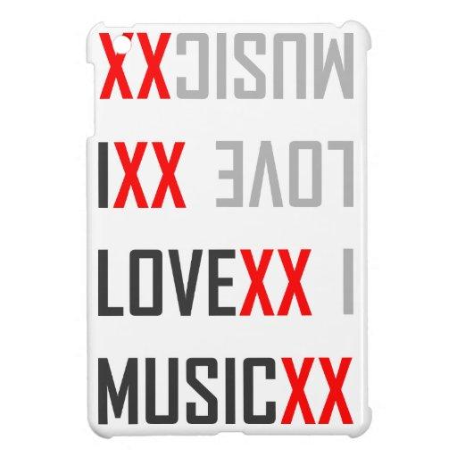I love music iPad mini carcasas