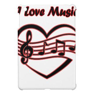 I Love Music Cover For The iPad Mini