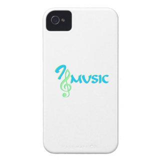 I love music iPhone 4 case