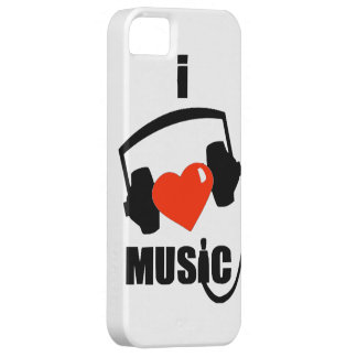I Love Music iPhone Case iPhone 5/5S Cover
