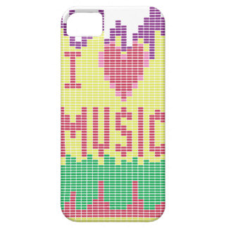 I Love Music iPhone SE/5/5s Case