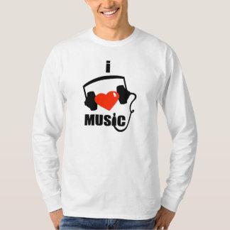 I Love Music Long-Sleeve T-Shirt